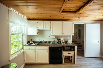 Falmouth Village Cape Cod vacation rental - Well equipped kitchenette to prepare daily meals.