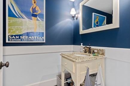 Chatham Cape Cod vacation rental - First Floor Powder Room