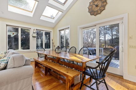 Chatham Cape Cod vacation rental - Dining Area - table seats 12