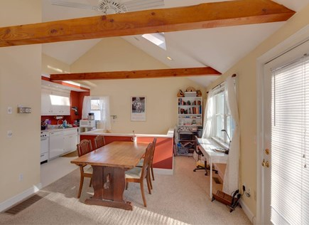Falmouth Cape Cod vacation rental - Dining area and kitchen is at the other end of the main room