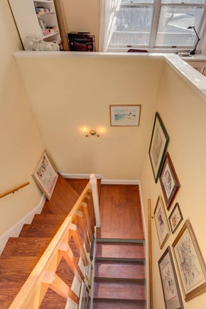 Falmouth Cape Cod vacation rental - Stairs from garage up to your cozy hideout.