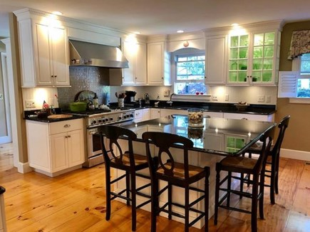 Chatham Cape Cod vacation rental - Lavish kitchen with big center island and seating