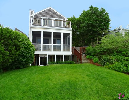 Wellfleet Cape Cod vacation rental - Backyard, steps to beach