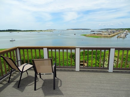 Wellfleet Cape Cod vacation rental - Enjoy sea breezes and water views from the master bedroom deck