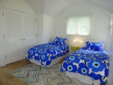 Wellfleet Cape Cod vacation rental - Upstairs twin bedroom with ceiling fan, reading nook