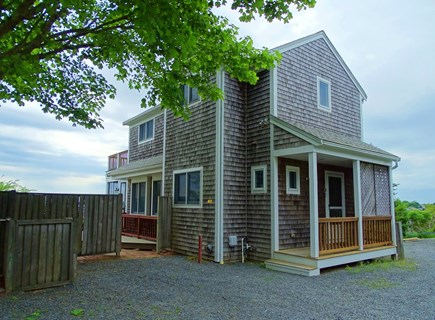 Wellfleet Cape Cod vacation rental - Front view of house