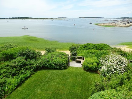 Wellfleet Cape Cod vacation rental - View from the Master deck - Wellfleet harbor