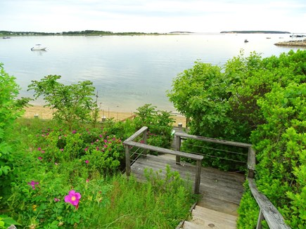 Wellfleet Cape Cod vacation rental - Steps down to private beach