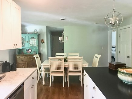 Plymouth MA vacation rental - Kitchen to dining area