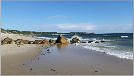 Plymouth MA vacation rental - Private part of Manomet Beach