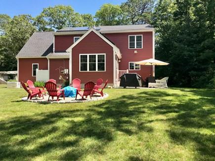 Plymouth MA vacation rental - Back yard view