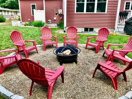 Plymouth MA vacation rental - Great family nights around the new fire pit
