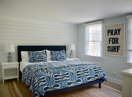 East Orleans Cape Cod vacation rental - King bedroom with en suite bathroom (with hall access)