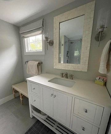 East Orleans Cape Cod vacation rental - Master Bathroom with shower