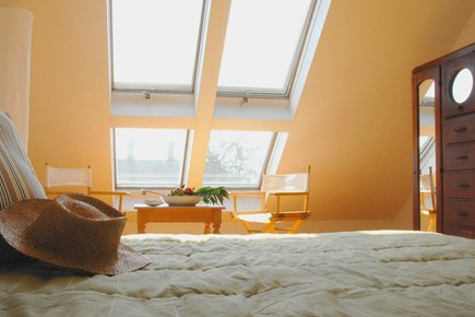 Provincetown Cape Cod vacation rental - Top floor Master bedroom 1