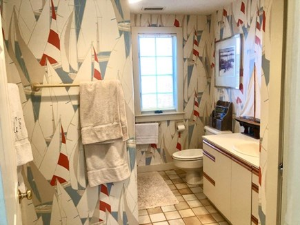 Orleans Cape Cod vacation rental - Upstairs full bath with tub/shower