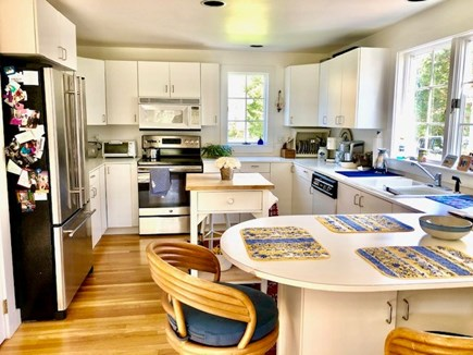Orleans Cape Cod vacation rental - Full Kitchen with island seating area