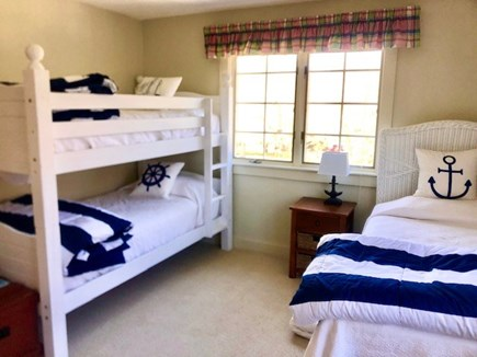 Orleans Cape Cod vacation rental - Upstairs bedroom with 3 twin beds