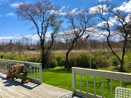 Orleans Cape Cod vacation rental - View of the marsh from the back deck - very private