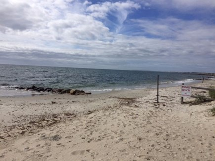 West Dennis Cape Cod vacation rental - Private beach just 100 yards away... so convenient!