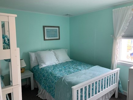 West Dennis Cape Cod vacation rental - Bedroom #1 (full bed & twin bunkbeds)