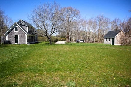 Brewster Cape Cod vacation rental - More than a acre where kids can run and play safely