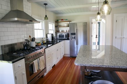 Brewster Cape Cod vacation rental - All-new, fully equipped kitchen.  Cheery and social.