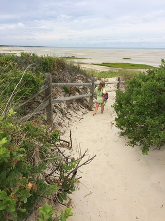 Orleans Cape Cod vacation rental - Path to the beach
