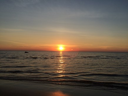 Orleans Cape Cod vacation rental - Sunset at Skaket Beach.Gonna be a beauty!