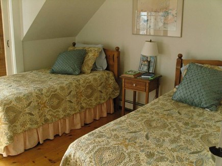 New Seabury, Maushop Village Cape Cod vacation rental - Twin beds, juliet balcony, ocean views.