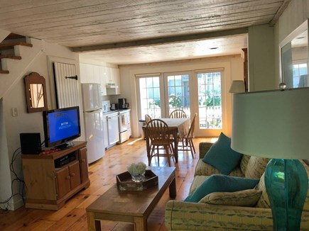 New Seabury, Maushop Village Cape Cod vacation rental - Open space room, with kitchen living room area.Half-bath.
