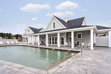 Dennis Cape Cod vacation rental - Clubhouse and pool area