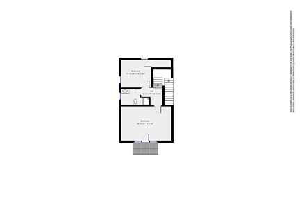 Dennis Cape Cod vacation rental - Map of 2nd floor