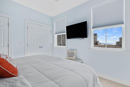 Dennis Cape Cod vacation rental - Master bedroom with TV and water views