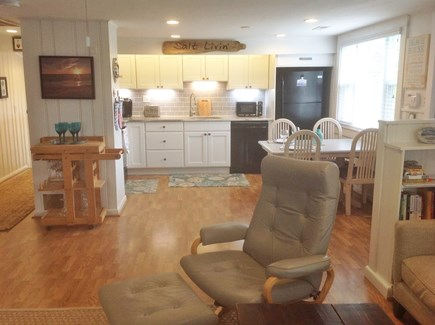 Chatham Cape Cod vacation rental - Light & open kitchen and living room
