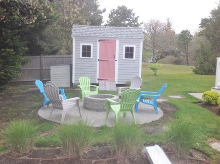 Chatham Cape Cod vacation rental - Brand new fire pit and patio for an evening fire