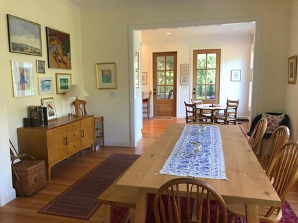 Woods Hole Woods Hole vacation rental - Dining Room looking to Kitchen