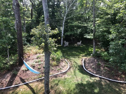 Woods Hole Woods Hole vacation rental - Outdoor sunken garden with hammock