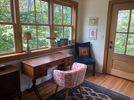 Woods Hole Woods Hole vacation rental - Small office with view of woods