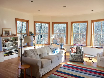 Woods Hole Woods Hole vacation rental - Living Room with Fireplace