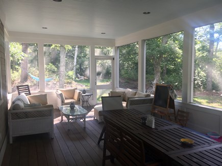 Woods Hole Woods Hole vacation rental - Screen porch