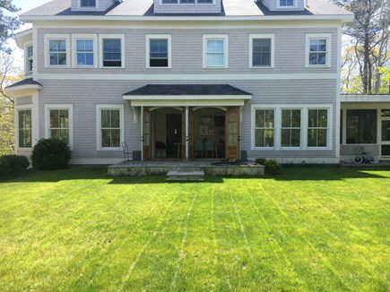 Woods Hole Woods Hole vacation rental - Back of house and back yard