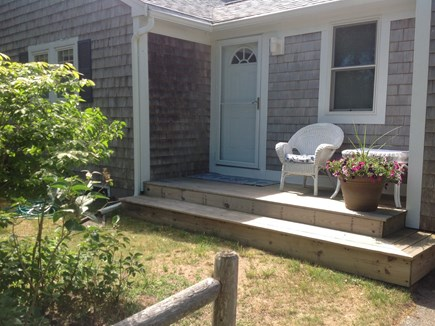 Yarmouth Cape Cod vacation rental - Welcome (side entrance off of driveway)