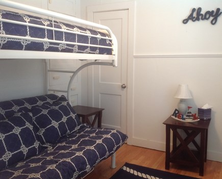 Yarmouth Cape Cod vacation rental - Twin over full bunk room - main floor