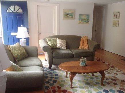 Yarmouth Cape Cod vacation rental - Sunny living room (TV)