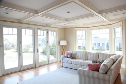 New Seabury, Popponesset New Seabury vacation rental - Family Room with large television
