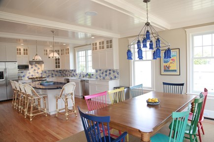 New Seabury, Popponesset New Seabury vacation rental - Kitchen and dining area