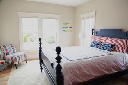New Seabury, Popponesset New Seabury vacation rental - First floor guest room with queen bed