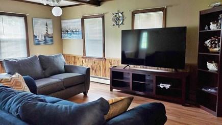 Dennis Cape Cod vacation rental - Family room with large flat screen TV