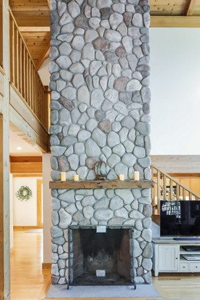 Brewster Cape Cod vacation rental - Amazing fireplace